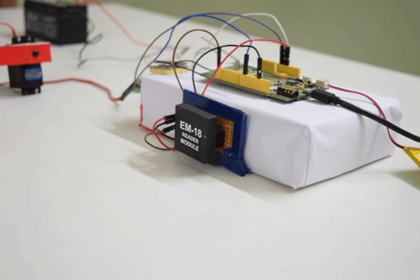 Toll Booth RFID Reader