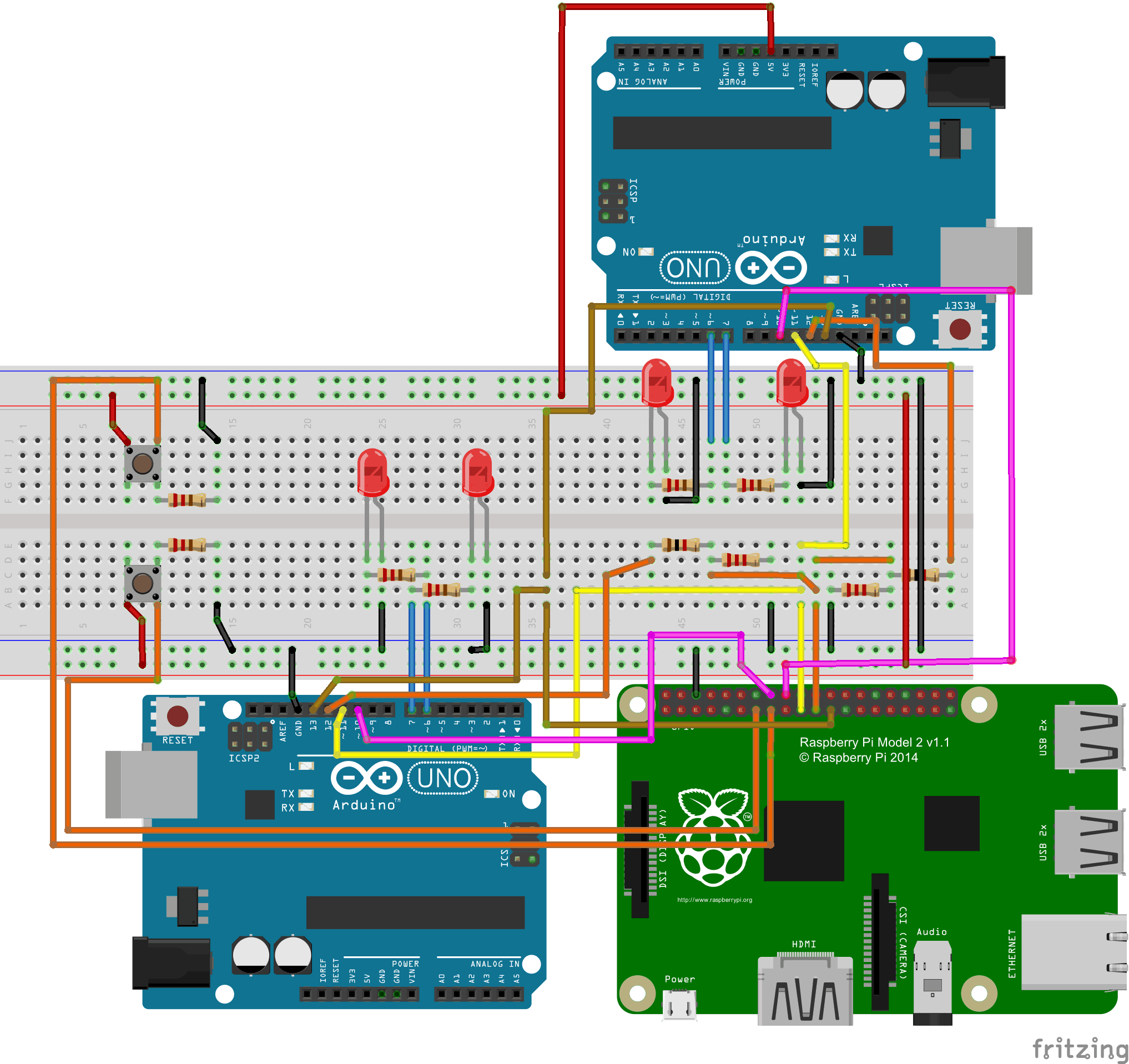 RaspberryPi SPI Schematic